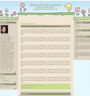 themes and templates for  blogger free