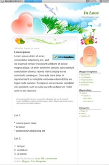free theme for blogger blog